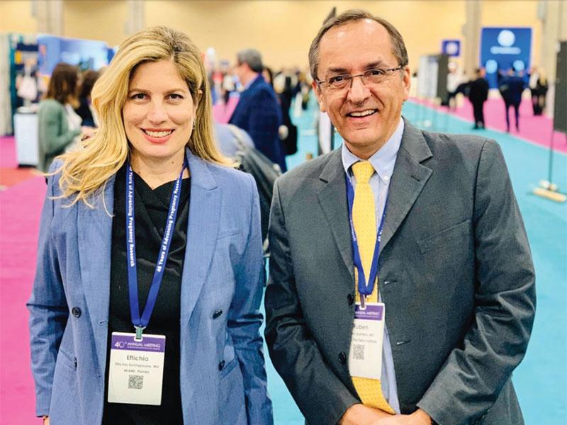 Kontopulos and Quintero at the Society of Maternal Fetal Medicine Meeting 2020